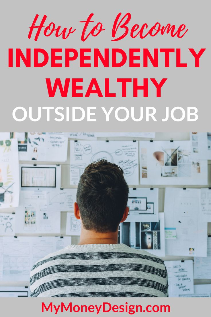 How does someone actually get rich? People who have made it more than likely didn't get there by running the rat race or working themselves to death. They got there by creating systems where money works for them. Here's how to become independently wealthy and truly live the way you want to. - MyMoneyDesign.com