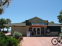 Paradise Grille at Pass-A-Grille Beach - right on the beach! Great breakfasts and lunch. Try the chicken fingers!