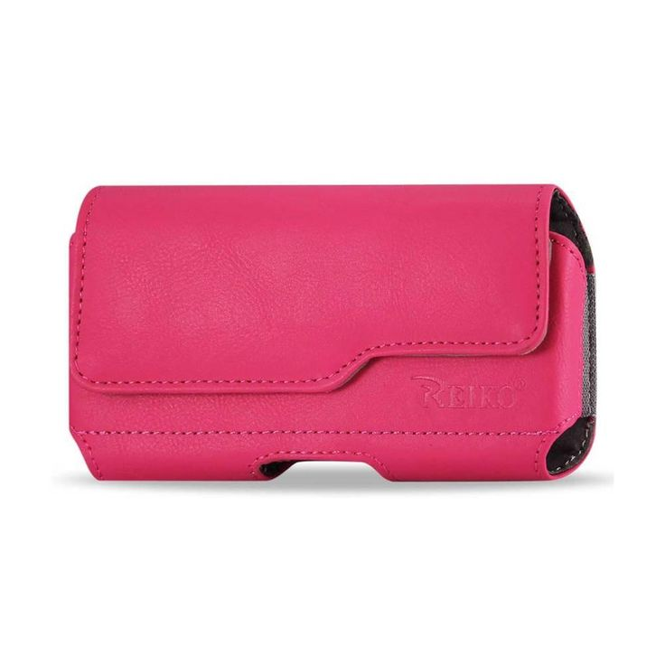 Reiko Horizontal Z Lid Leather Pouch Samsung Galaxy S3/ I9300/ R53 X Plus Hot Pink