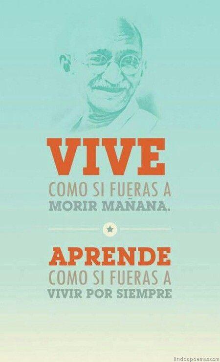 Gandhi... Palabras