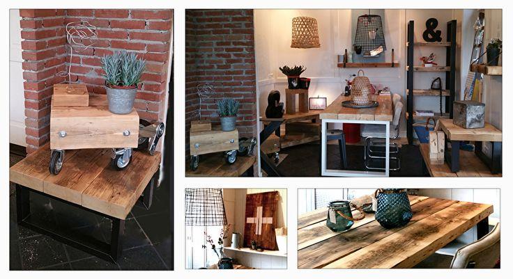 Over onsVanuit onze oude bakkerij in Gorinchem zijn wij in 2011 gestart met De Betoverde Zolder. Na een grote verbouwing van de oude bakkerij naar woonhuis en winkel, zijn we gestart met het ontwerpen en fabriceren van stoere robuuste meubels van oude plafondbalken.