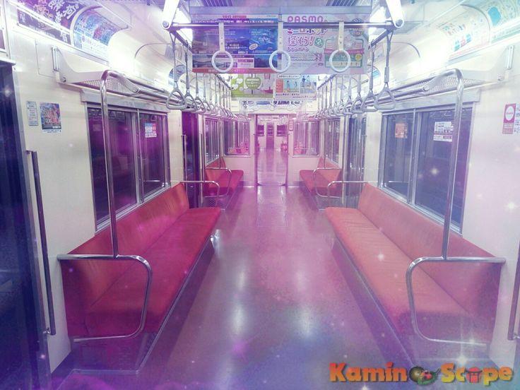 Kamino a la ciudad, en el tren nocturno de la Vía Láctea (#銀河鉄道の夜) 🌃✨ #Japón #KenjiMiyazawa #宮沢賢治