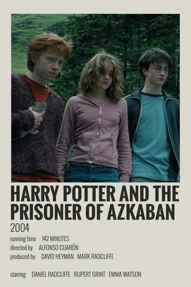 Harry potter movie posters