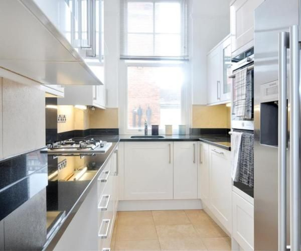 25+ Best Ideas About White Galley Kitchens On Pinterest
