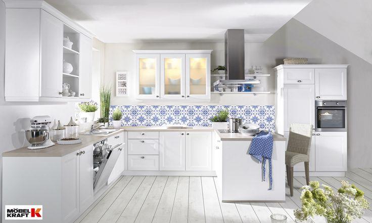 wei e landhausk che nolte k che pinterest kitchens. Black Bedroom Furniture Sets. Home Design Ideas