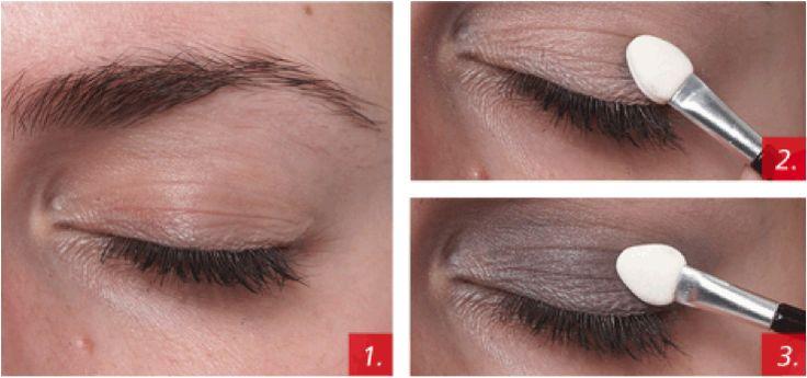 stap 4 aanbrengen oogschaduw