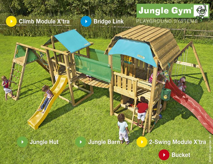 Junge Gym Playparadises - bring the park into your home