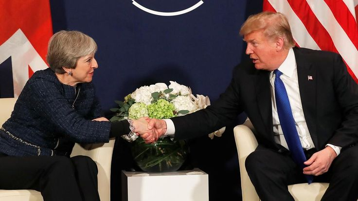 FOX NEWS: Trump May talk up US-UK ties in Davos dismiss rumors of strained relationship