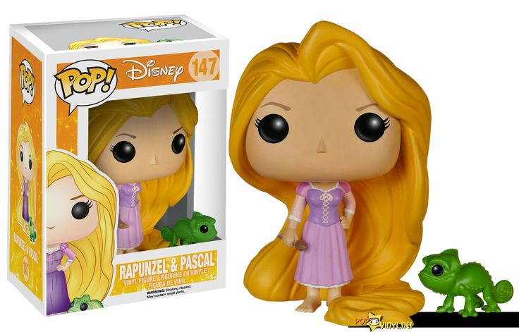 Disney's Tangled POP Vinyl Collection Incoming - I'm gonna need a hipster version of this.