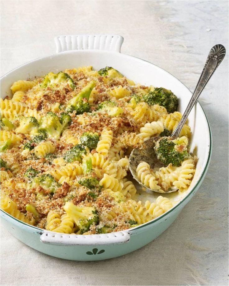 Skinny Baked Broccoli Mac & Cheese ‹ Hello Healthy