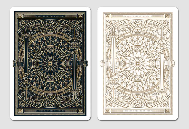 Origins Playing Cards — The Dieline