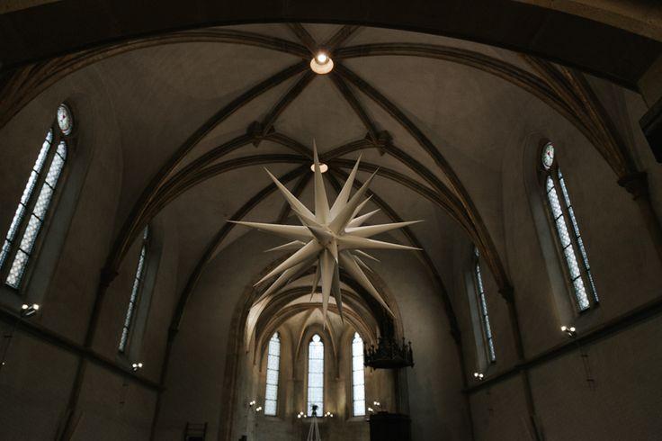 moravian star wedding church