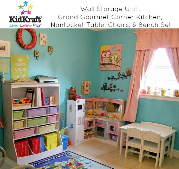 The KidKraft Wall Storage Unit Is Over Tall With 8 Bins And 13 Storage  Compartments. KidKraft Offers Excellent Quality, Durability, And  Functionality.