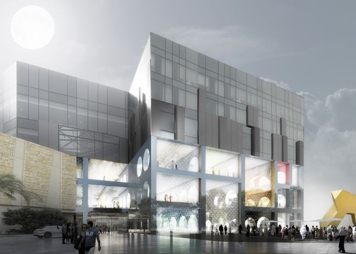 Designs for a department store in Kuwait City by OMA