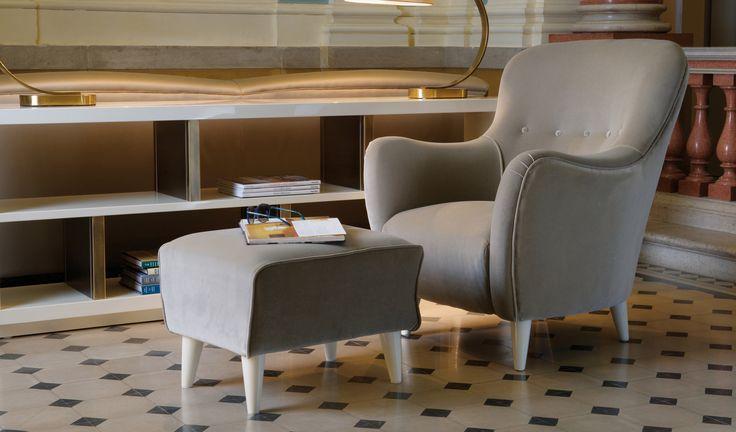 DOM EDIZIONI Armchair #domedizioni #luxuryliving #marie #armchair #luxuryfurniture