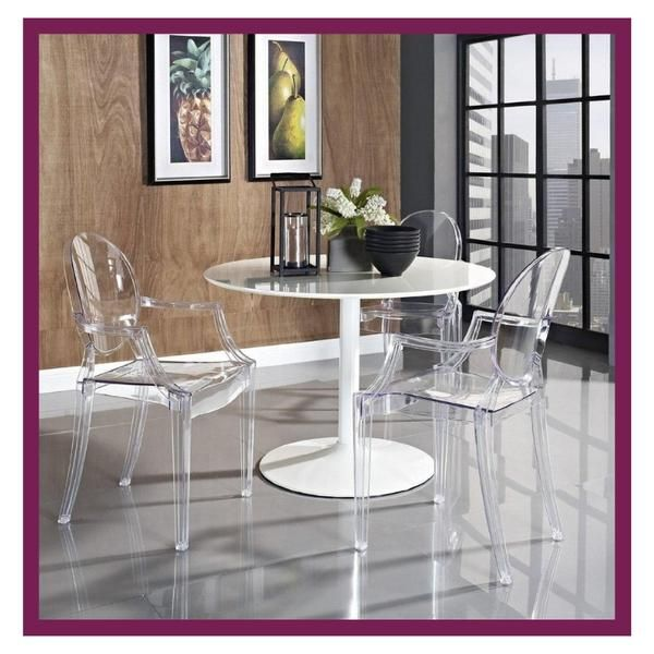 How To Make The Most Of A Small Dining Space Clear Dining Chairs