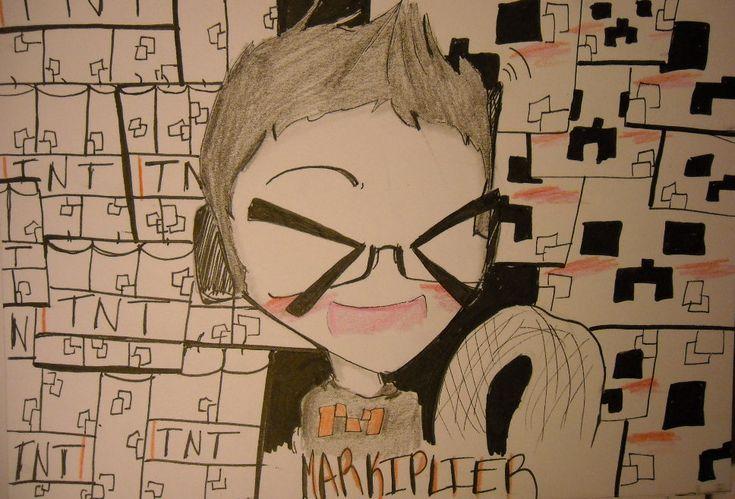Markiplier~Drunk Minecraft by huey4ever