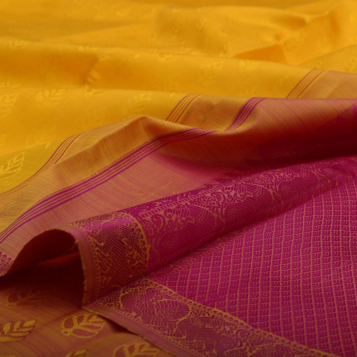 Sarangi Handwoven Kanjivaram Silk Sari - 180126320