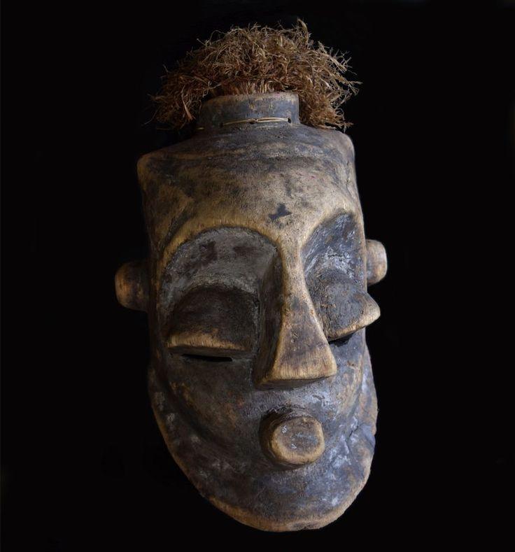 Kuba Bongo Helmet Mask - D. R. CONGO