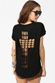 Cross It Out TeeDiy Ideas, Fashion Shoes,  T-Shirt,  Tees Shirts, Crosses Shirts, T Shirts, Cut Out, Cut Up Shirts, Dreams Closets