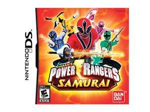 Power Rangers Samurai Nintendo DS Game namco