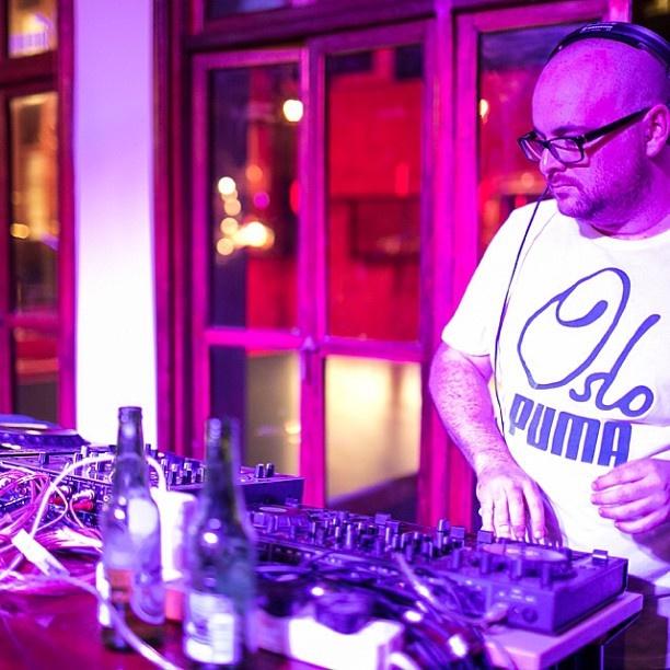 Matt Suttner DJs at PUMA Social Club #PUMA #Oslo #PUMAsocial #mattsuttner #DJ #music #club #jozi