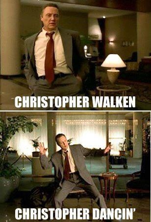 christopher walken | tees | Funny, Funny cute, Hilarious