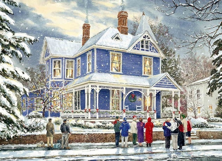 84 best Victorian Homes At Christmas images on Pinterest ...