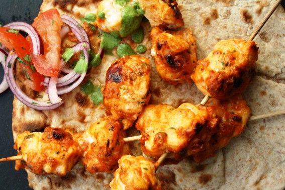 Tandoori Fish Tikka – Fish cooked in a tandoori marinade with chilli, cumin & coriander
