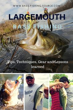 All the things you want to know about catching largemouth bass. How to find them, what lures to use and other tips and tactics, only at the Source for all things bass fishing.