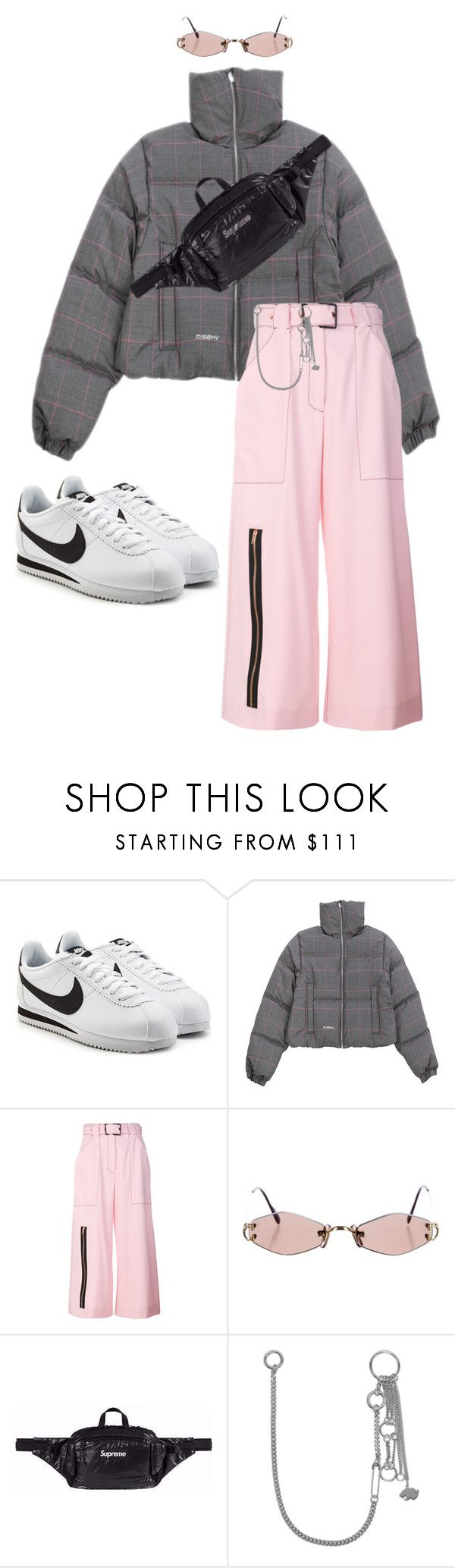 """Untitled #707"" by milly-oro on Polyvore featuring NIKE, MISBHV, Proenza Schouler, Cartier and Valentino"