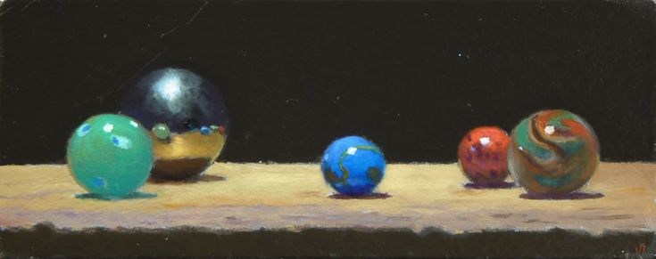 """""""Forum No. 13"""" Oil on Panel • 2x5 inches (5x12 cm) • 2012 • Private Collection. Read more at my blog: http://jeffhayesfinearts.blogspot.com/2014/06/forum-no-13.html"""