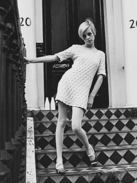 The top model, Twiggy in 1966.