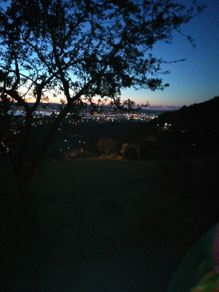 Gün batımı manzara