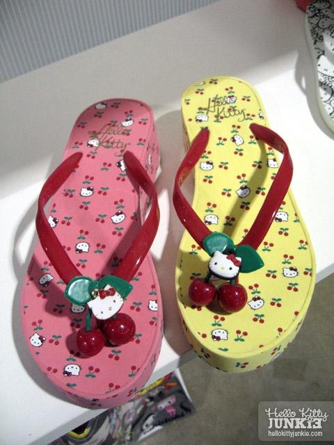 Hello Kitty Cherry Flip Flops