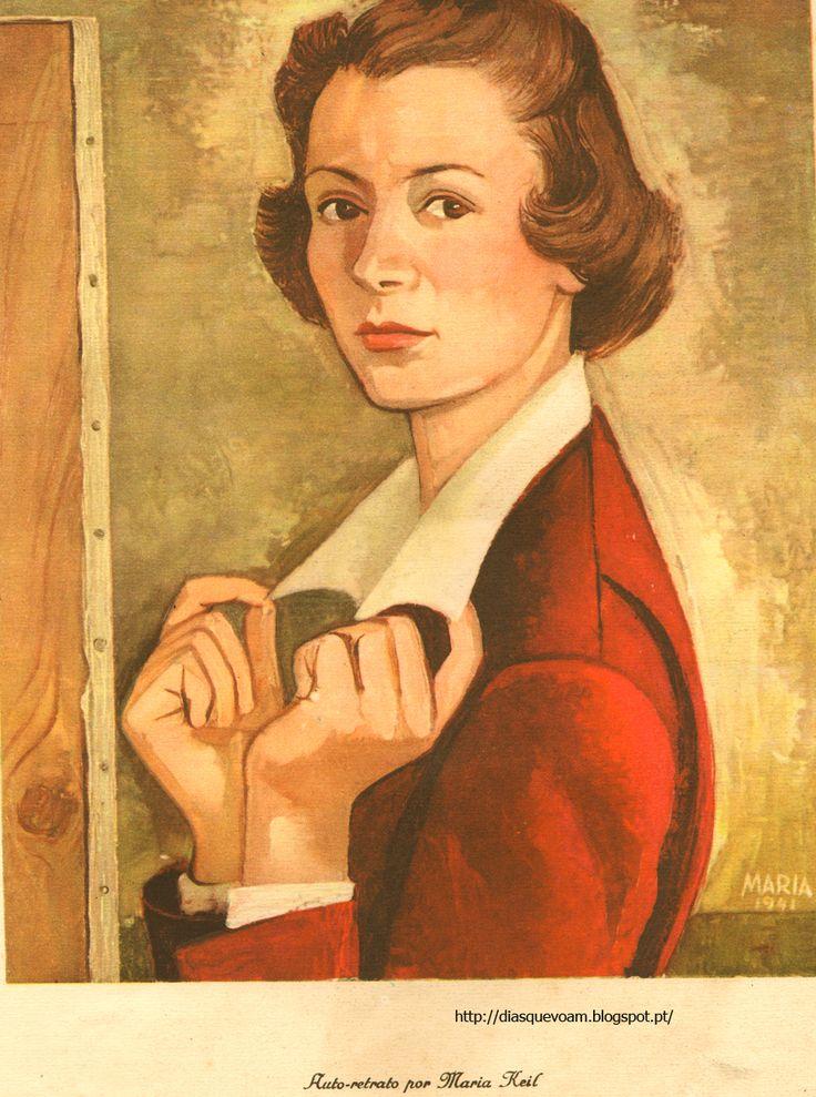 Auto-retrato Maria Keil