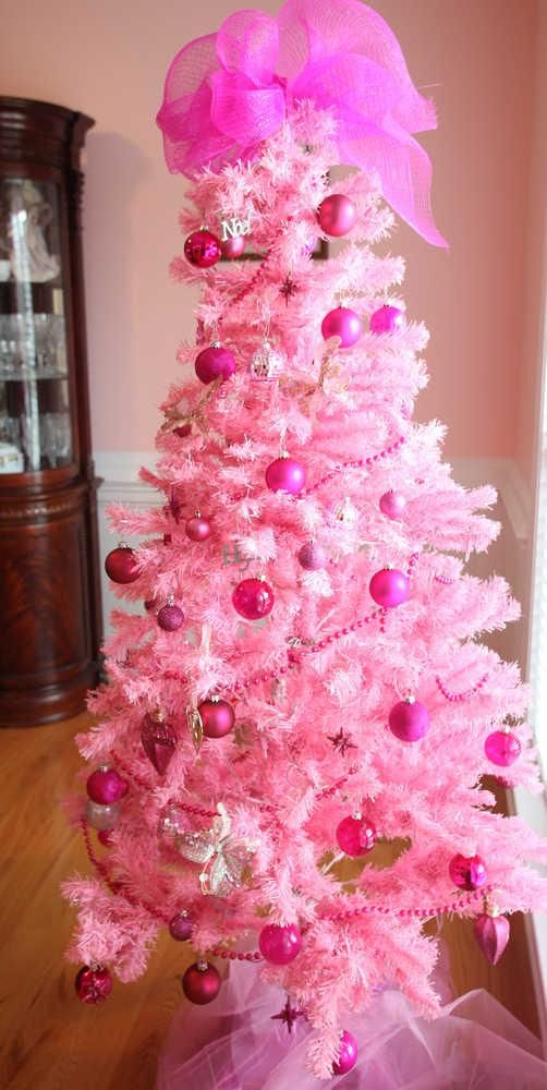 Knob Hill Breastcancer Yearly Christmastree My