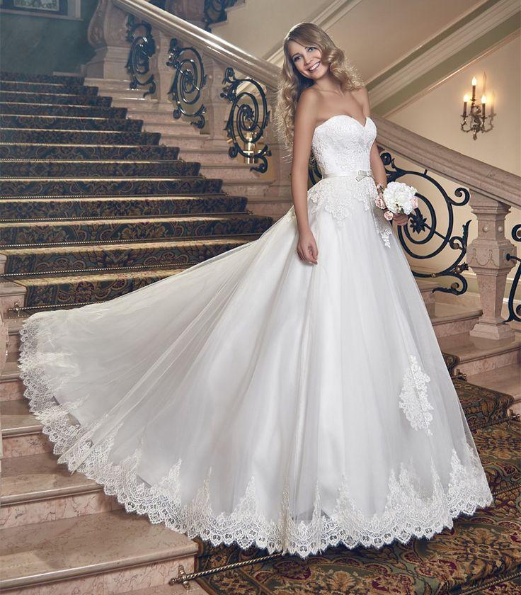 15 best vestidos de novia images on Pinterest | Bridal gowns ...