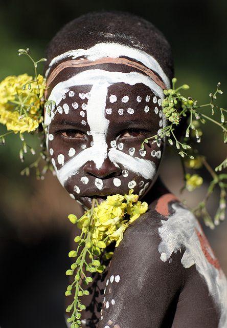 Ethiopian Tribes, Suri by Dietmar Temps, via Flickr