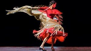Tüzes flamenco show