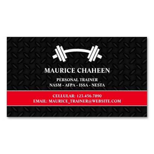 1000 ideas about personal trainer business cards on