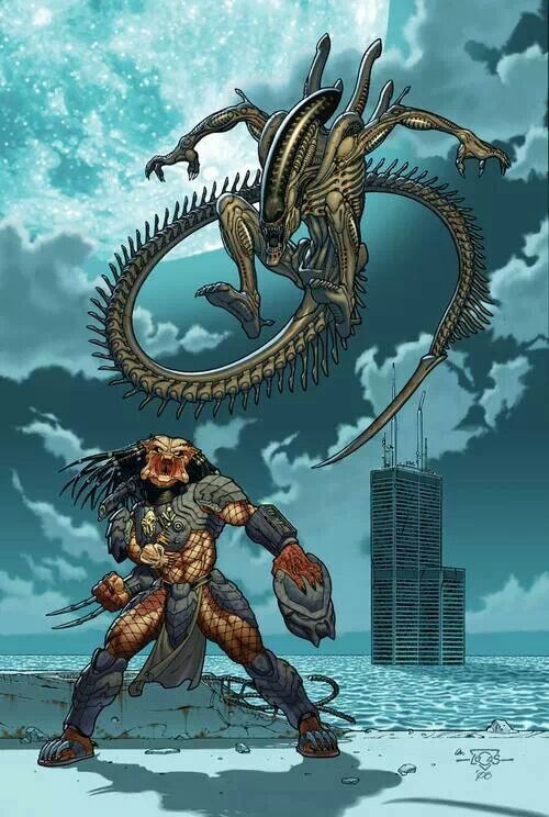 Xenomorph Vs Predator Comic Crossovers Pinterest