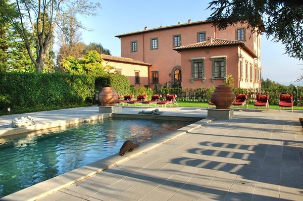 Villa Machiavelli, near  Florence, Tuscany