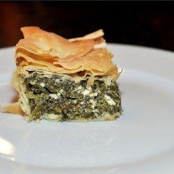 Spanakopita (Greek Spinach Pie) - Allrecipes.com