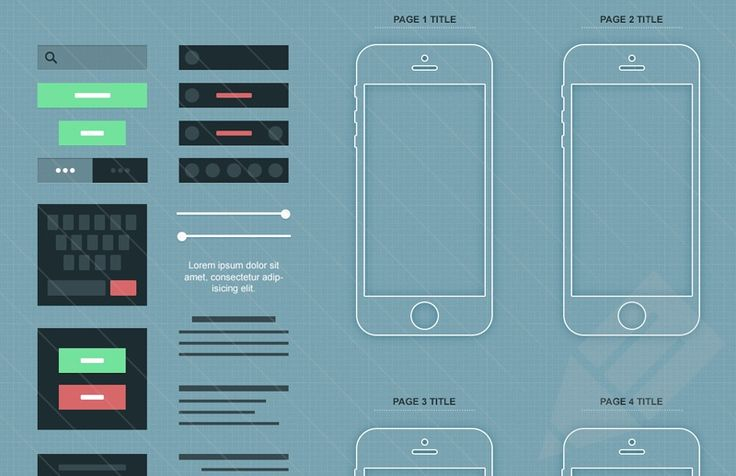 Medialoot - iPhone App Wireframe (.psd)