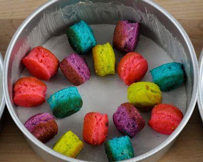 Polka Dot Cake Without Cake Pop Pan