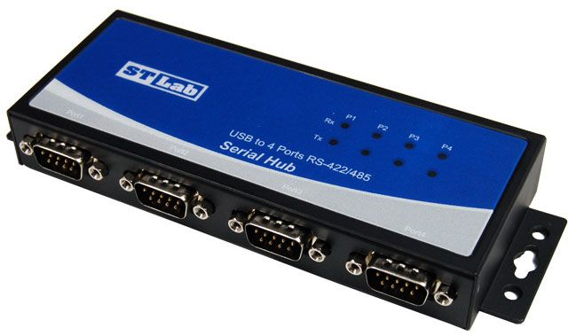 USB 2.0 to Serial Adapter RS-422 RS-485 DB9 4-Port IU-120 http://j.mp/1s654nA