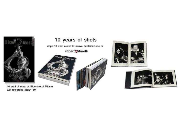 il libro dei 10 anni del Blue Note  print by Spazio81. ph by Roberto Cifarelli