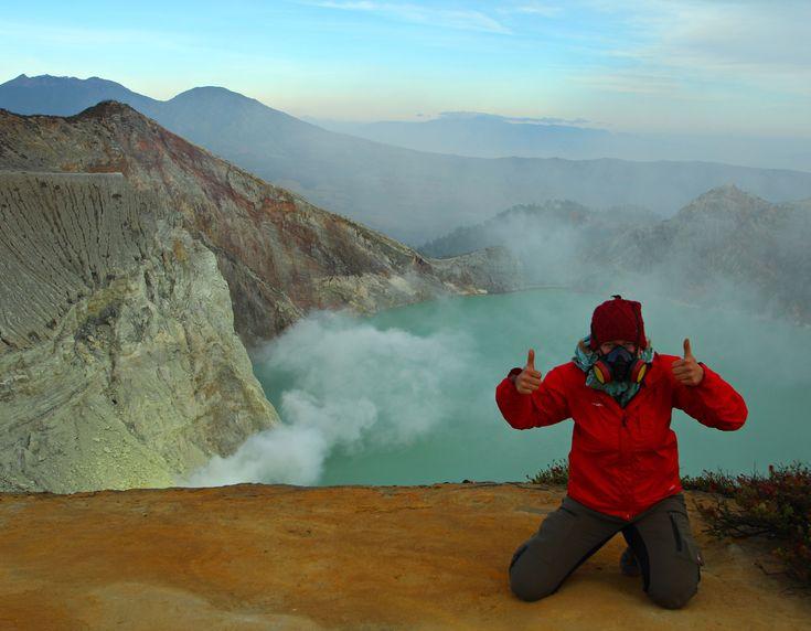 Der härteste Job der Welt befindet sich in Indonesien. Genauer auf der Insel Java in einem Vulkan. Hofheld-Bloggerin Janne hat sich's angesehen.