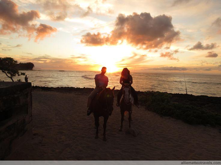 Horseback riding Oahu, North Shore, Hawaii